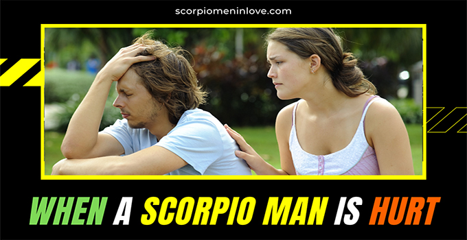 Comes scorpio man back always Why Does