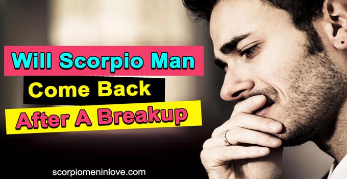 Why scorpio man pulls away